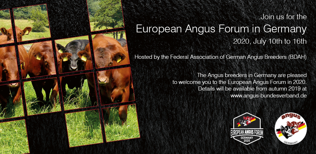 European Angus Forum 2020 Germany